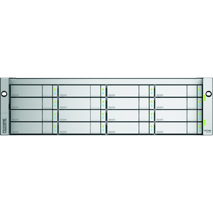 Promise Technology VTrak E630fD - Hard drive array - 64 TB - 16 bays ( SATA-600 / SAS-2 ) - 16 x 4 TB - 8Gb Fibre Channel (external) - rack-mountable - 3U / Mfr. No.: E630fdqs4