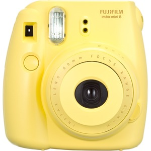 Instax Mini 8 Instant Camera-Yellow