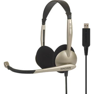 Koss Communication Headset with Microphone / Mfr. No.: Cs100 USB
