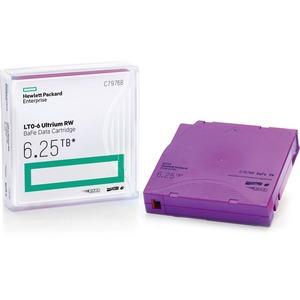 HP LTO-6 Ultrium 6.25TB BaFe WORM Data Cartridge