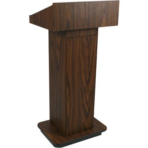 Executive Column Lectern Walnut Non-Sound / Mfr. No.: W505-Wt