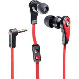 In-Ear Headphone W/Mic For iPhone/Cellphone 3.5mm Red / Mfr. no.: CL-AUD63028