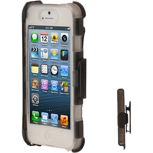 Zcover Rugg Tpu Case For iPhone5 W/ Clamshell Clear / Mfr. no.: IPHONE5-APP5ATTC
