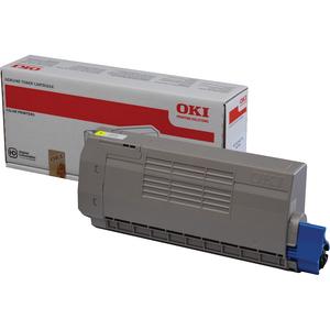 OKI - Jaune - original - cartouche de toner pour MC760dn, MC760dnfax, MC760dnvfax, - 45396301