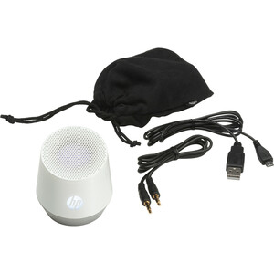 HP Mini S4000 (Pearl White) Portable Speaker