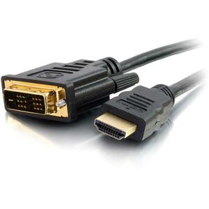 0.5m HDMI Male To DVI Male Digital Vid Cable / Mfr. No.: 42513
