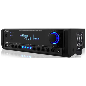 Digital Homestereo Receiver Syst 300w W/ USB/SD Memory Read / Mfr. No.: Pt390au