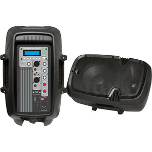 600w Powered 2way Pa Speaker 10 W/ Mp3/USB/SD Playback / Mfr. No.: Pphp103mu