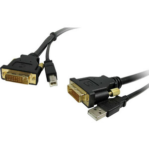 15ft DVI Male To Male With USB Cabl Standard Series Lifetime W / Mfr. No.: DVI-DVI-15st/USB