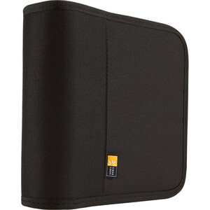 Case Logic 24 Capacity Nylon CD/DVD Wallet - Black / Mfr. No.: Bnw-24black