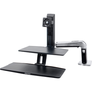 Workfit-A Stand W/ Suspended Keyboard Single Hd / Mfr. No.: 24-391-026