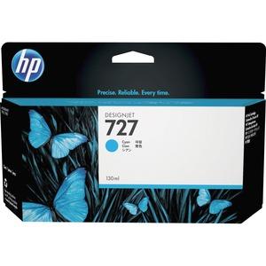 Encre HP Cyan 727 - Encre à Colorant - B3P19A