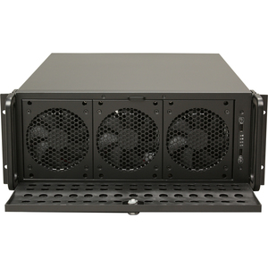Rsv-L4500 4u Rm 15bay Blk/Steel 2x USB2.0 In Front Panel / Mfr. No.: Rsv-L4500