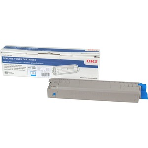 10k Cyan Toner Cart For C831 Series / Mfr. no.: 44844511