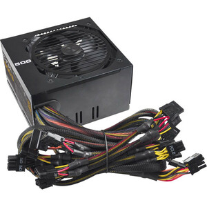500w Bronze Power Supply 80plus Bronze / Mfr. No.: 100-B1-0500-Kr