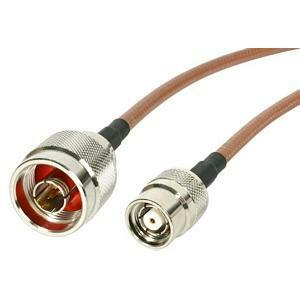 StarTech.com 1 ft N Male to RP-TNC Wireless Antenna Adapter Cable - M/M