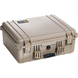 1550nf Hard Case Sand No Foam Case Only 18.43x14x7.62 / Mfr. No.: 1550-001-190