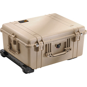 1610 Hard Case W/Foam Tan With Wheels 21.78x16x10.62 / Mfr. No.: 1610-020-190