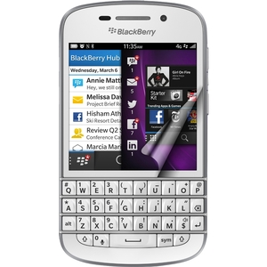 Crystal Oleophobic Screen Cover For Blackberry Q10 / Mfr. No.: Rt-Spbbq1007