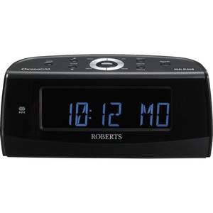 Roberts Radio ChronoDAB DAB / FM RDS Digital Clock Radio with Large Display