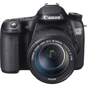 Canon Eos 70d 20.2mp 3.0 LCD 18-135 Is Stm Lens / Mfr. No.: 8469b016
