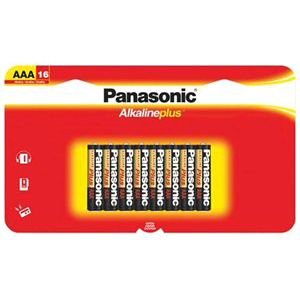 16pk AAA Alkaline Plus Battery Long Lasting Power For Everyday / Mfr. No.: Lr03pa/16bh