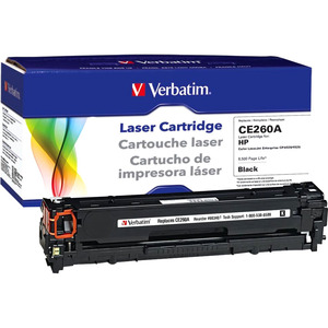 Hp Ce260a Black Toner Cartridge Remanufactured For Cp4025 Cp452 / Mfr. No.: 98340