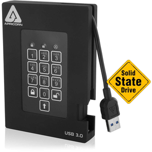 256gb Fortress Fips Portable USB Ssd Hw Encrypted / Mfr. no.: A25-3PL256-S256F