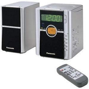 Panasonic Twin Dreamer CD Clock Radio with Alarm