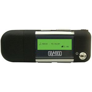 Sweex MP052 Breeze 2GB MP3 Player