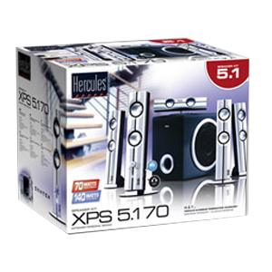 Guillemot Hercules XPS 5.1 70 Multimedia Speaker System