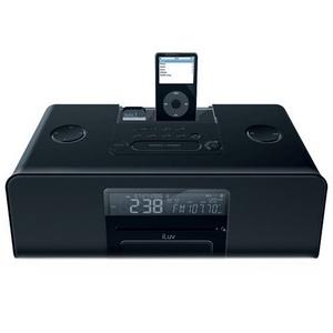 iLuv I199BLK Bluetooth iPod Clock Radio