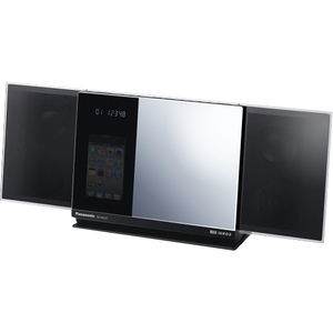 Panasonic NEW! SC-HC37 Compact Stereo System with iPod Dock