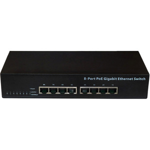8port Gigabit Desktop Switch W/ 8port Poe / Mfr. No.: Pl-1008gp