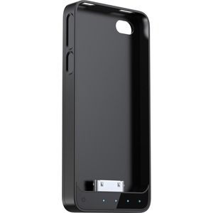 Battery Case For IPhone 4/4s Mfi Black Base and Black/Clear Fr / Mfr. No.: Ap4-15ck
