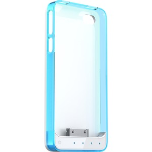 Battery Case For IPhone 4/4s Mfi White Base and Blue/Clear Fra / Mfr. No.: Ap4-15cb