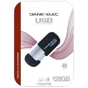 128gb Flash Drive USB 2.0 / Mfr. No.: Da-Z128gcnb8-R