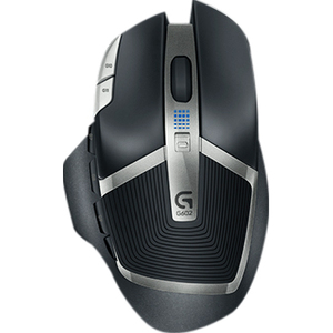 Logi G602 Wireless Gaming Mouse 250 Hrs-Battery Life-High Accur / Mfr. No.: 910-003820