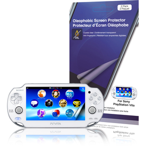 Oleophobic Screen Protector For Sony Playstation Vita 2pc / Mfr. No.: Rt-Spspsv07