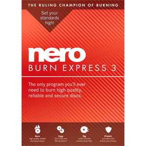 Fr/En Nero Burn Express3 Bi-Lingual / Mfr. No.: Amer-11440000/605