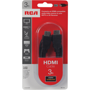 3ft HDMI To HDMI M/M Cable Connects HDMI To Audio Video So / Mfr. No.: Vh3hhr