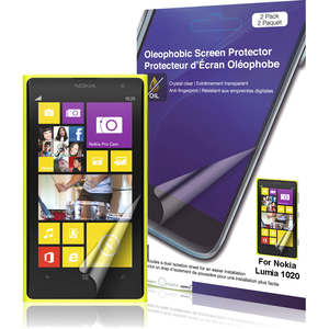 3pk Oleophobic Screen Protector For Nokia Lumia 1020 Smartphone / Mfr. No.: Rt-Spnl102007