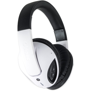 Oblanc Cobra200bt Headphone Bluetooth W/ Built-In Mic Wht / Mfr. No.: Og-Aud23043