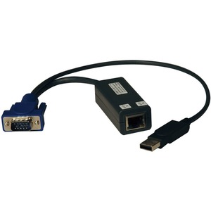 KVM Switch USB Server Interface Unit Virtual Media Hd15 USB Rj4 / Mfr. No.: B078-101-USB-1
