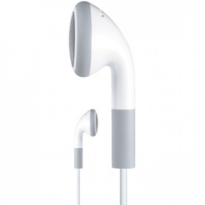 4XEM Earphones For iPhone/iPod/iPad - White / Mfr. No.: 4xeariPod