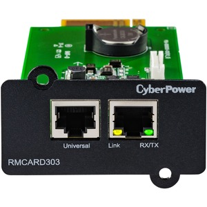 Ups Ol Remote Management Card Snmp Http Nms RJ45 Slot 3yr Warranty / Mfr. No.: Rmcard303