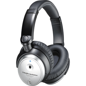 Audio Technica Noise Cancelling Over Ear Headphones W/ Controller / Mfr. No.: Ath-Anc7b-Svis
