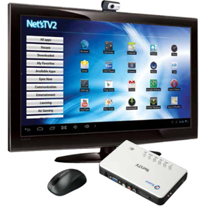 Kaser Network Audio/Video Player - Wireless LAN - White