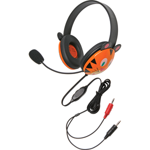 Califone Stereo Headset for Kids - Tiger / Mfr. No.: 2810ti-Av