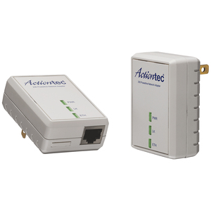 2unit Powerline Enet 200mbps Networking Kit / Mfr. no.: PWR200K01